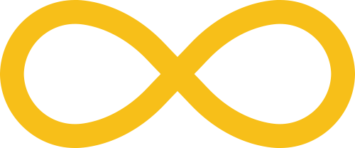 Icône de l'infini