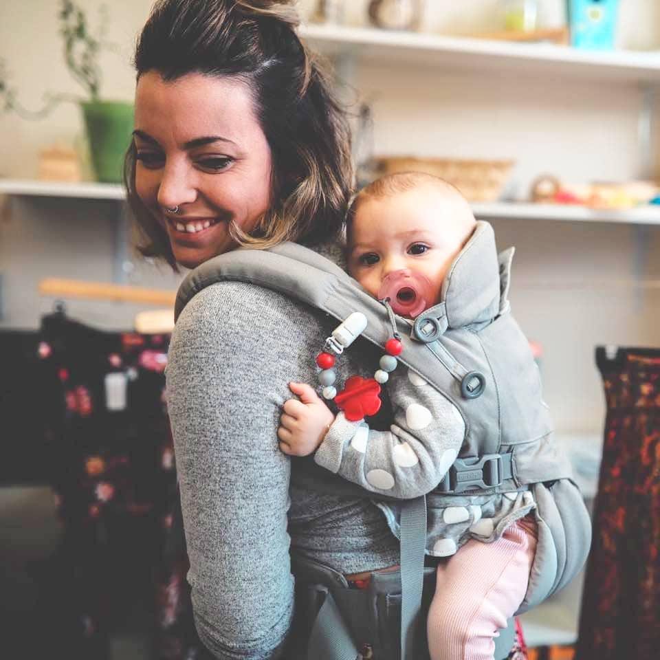 Portrait de Catherine Bérubé, auteure de cet article sur la parentalité positive.