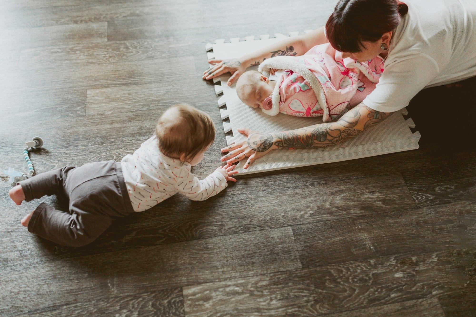 Famille Bérubé à la une de cet article sur la parentalité positive
