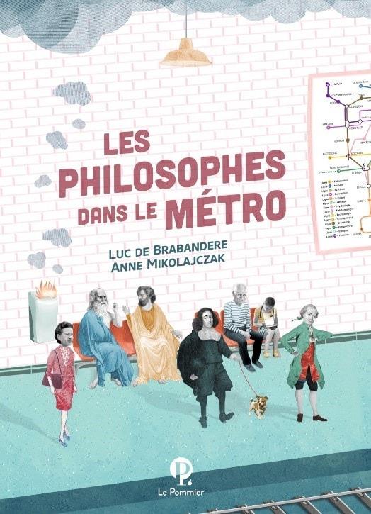 couverture livre Les philosophes dans le métro