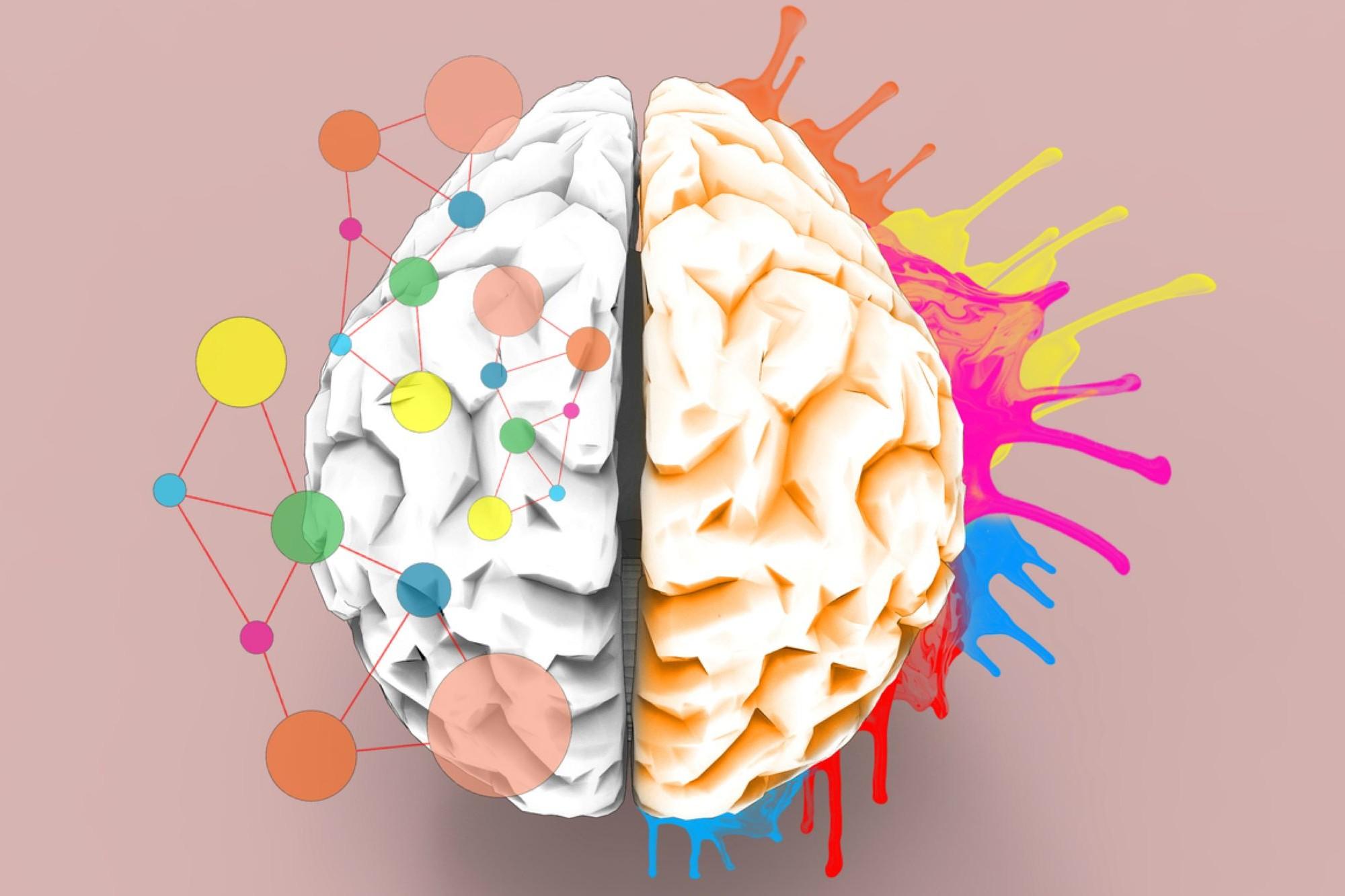 Le cerveau lors de l'écriture d'un journal créatif